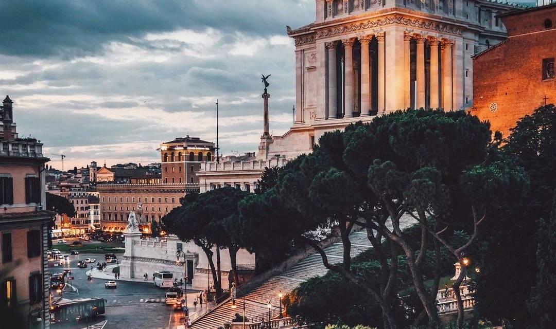 Rues de Rome capturées par le photographe @ davideor94