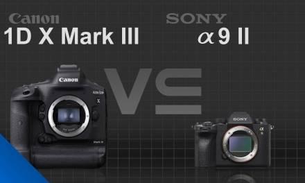 Canon EOS 1D X Mark III vs Sony alpha a9 II