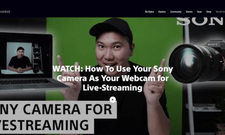 Vidéo Sony avec Jason Vong : Live streaming avec Sony Alpha