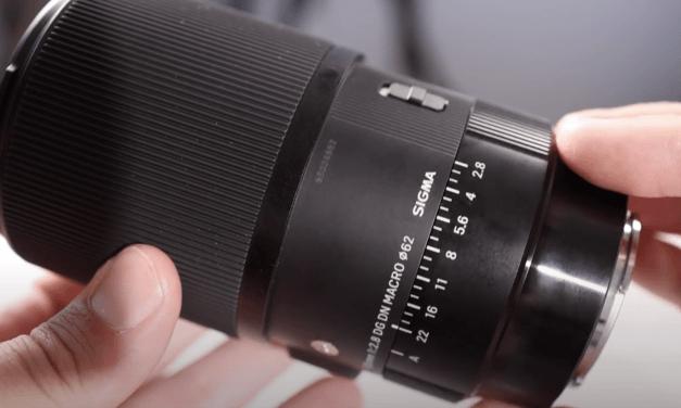 Test vidéo du Sigma 105mm DG DN Macro