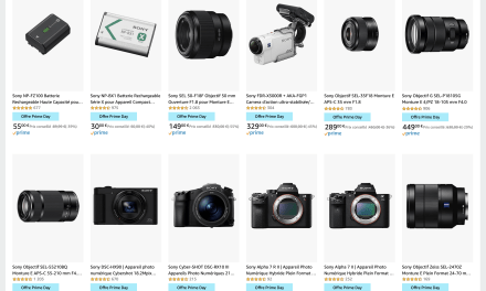 Amazon Prime Day avec offre SONY Alpha