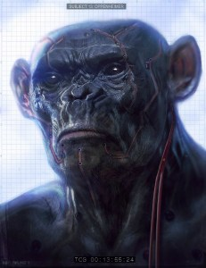 Go ahead. Quote Planet of the Apes one more time. I dare you.
