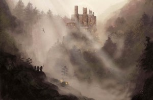 Yelp review: Great for all your castle needs but definitely too much mist. And evil. 2/5 stars.