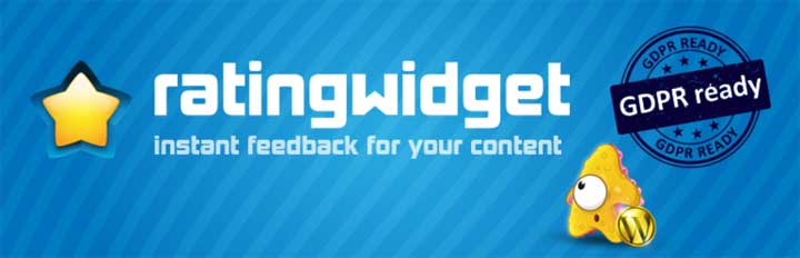 Rating Widget - The Best WordPress Star Review Plugin