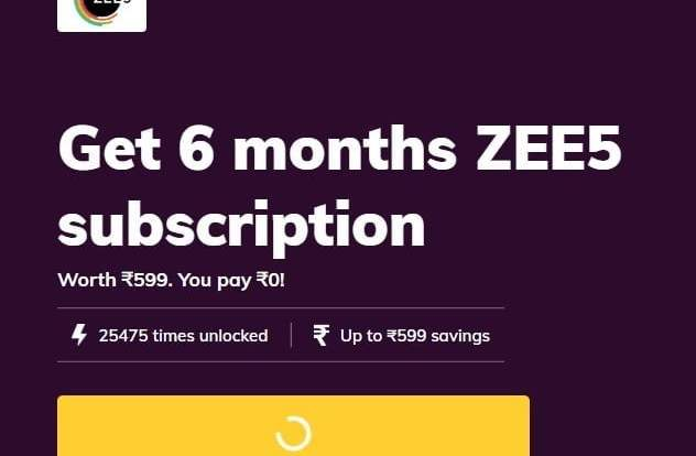Free Zee5 Premium Subscription