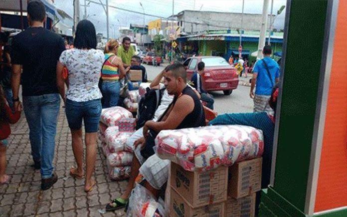 A quienes huyen por Brasil...