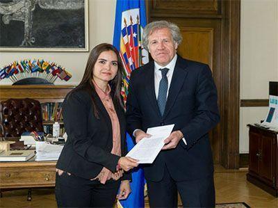 Visita a la OEA