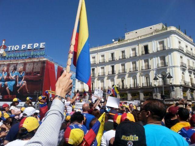 23 de abril en Madrid - El sol sale para todos
