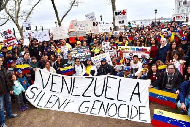 Venezuela protesta mundial