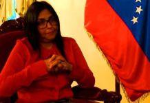 Canciller Delcy Rodríguez - BBC Mundo