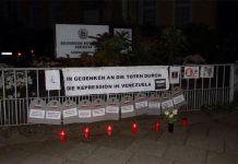 Protesta mundial - una embajada y tres consulados
