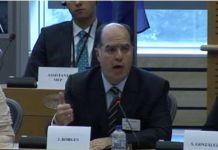 Julio Borges en el Parlamento Europeo