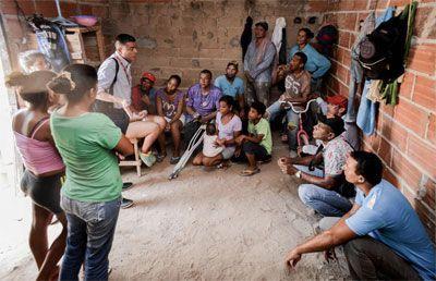 Hacinamiento, pobreza y falta de oportunidades en Colombia