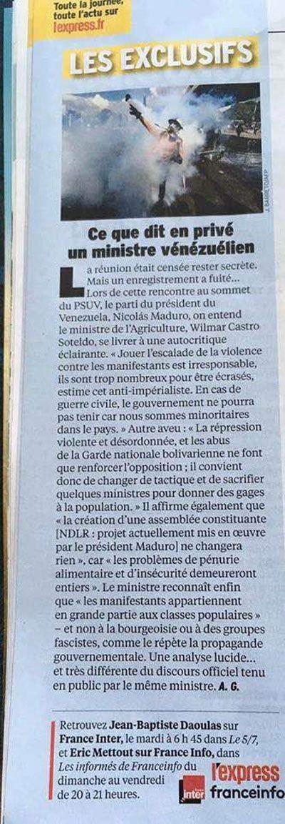 Los chavistas confirman que Maduro está desnudo