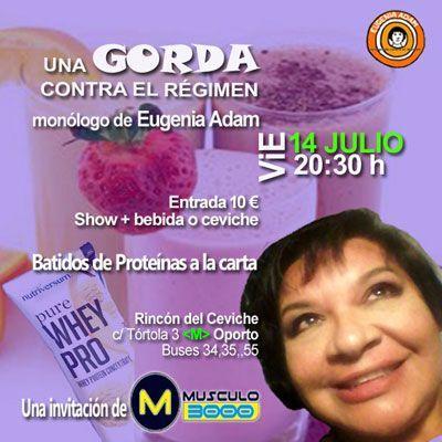 Madrid - Antes de ir a Sol o a Colón el domingo, rebélate el viernes con Eugenia