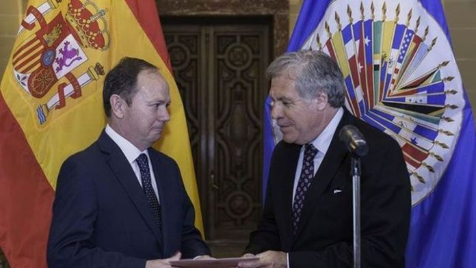 Nuevo observador de España ante la OEA reiteró apoyo a crisis venezolana