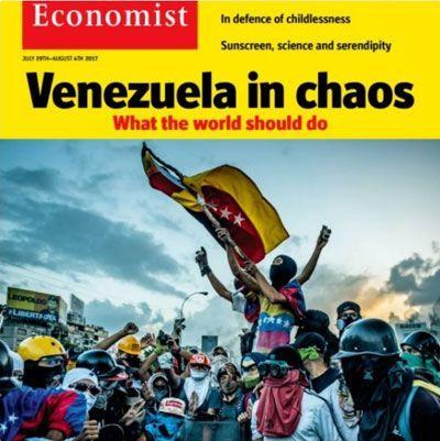 The Economist - Cómo tratar con Venezuela para hacer frente a la catástrofe