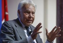 Felipe González compara situación de Cataluña con Venezuela