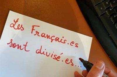 El idioma francés entra en la guerra de los sexos