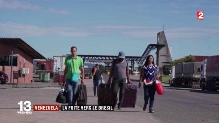 Venezuela: fuga masiva hacia Brasil
