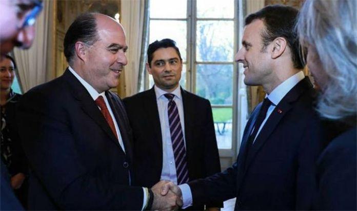 Presidente Macron: Francia dispuesta, junto a la UE, a adoptar nuevas medidas contra Maduro