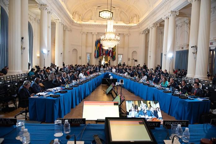 Resolución OEA sobre la situación en Venezuela