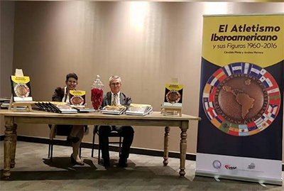 "Bautizo de ""Historia del atletismo iberoamericano"""