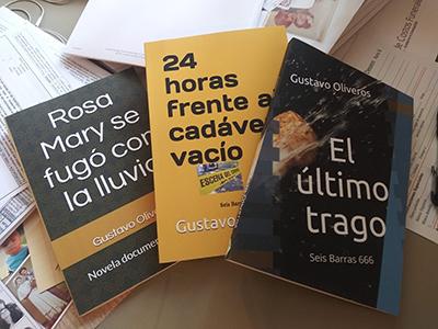 Gustavo Oliveros – Desbordamiento de novelas