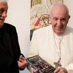 Arturo Sosa y el papa Francisco