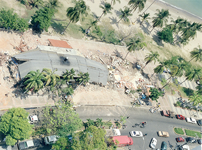 Demoliciones en el Paseo Colón de Puerto La Cruz (2000)