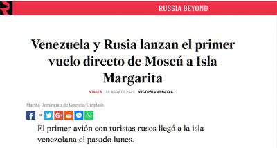 Rusos en Margarita