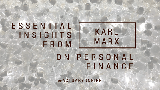 Karl Marx and personal finance