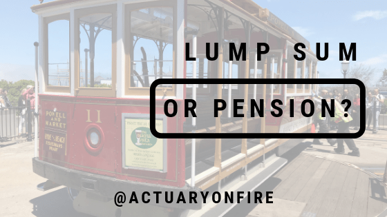 lump sum or pension?
