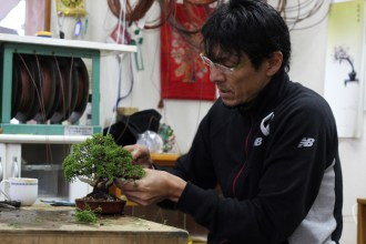 début du travail de mise en forme - koji hiramatsu