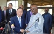 BAN KI-MOON A OUAGA : « La riposte contre le terrorisme doit être globale »