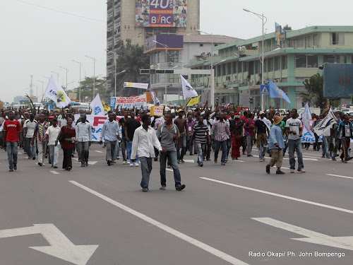 MANIF DE L'OPPOSITION EN RDC : Va-t-il pleuvoir sur Kinshasa?