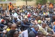 18eanniversaire de la mort de  NORBERT ZONGO : Les activistes expriment leur indignation à travers un sit-in silencieux