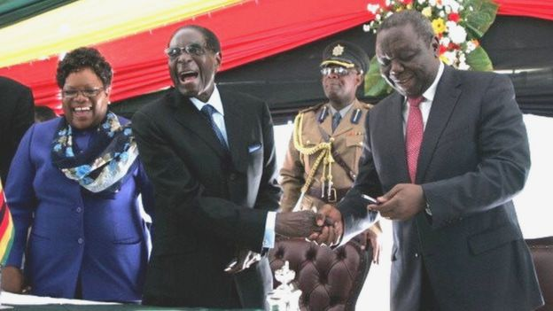 ZIMBABWE : deux poids lourds  s'allient pour détrôner  Robert Mugabe en 2018