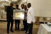 AFRIQUE DU SUD: le président Kaboré honoré par le Forum des éditeurs africains