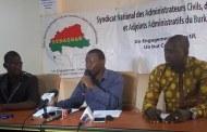 ADMINISTRATION TERRITORIALE : le SYNACSAB en sit-in et grève du 19 au 23 février