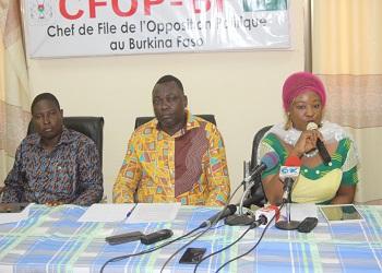 Conférence de presse hebdomadaire du CFOP : La situation de l'arrondissement 3  au menu des échanges