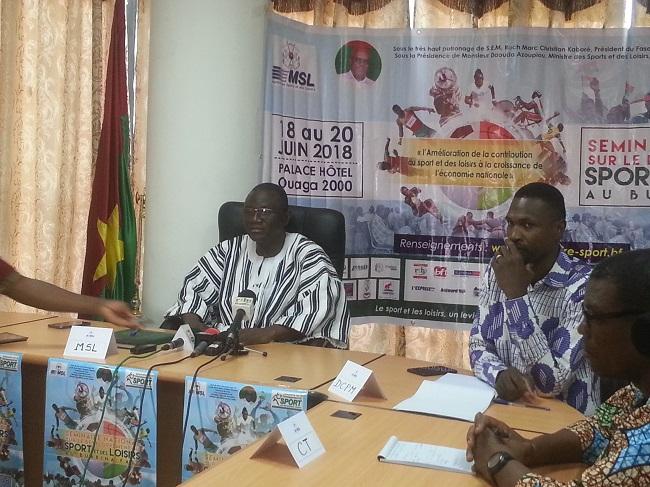 Burkina : Un séminaire du Sport et des Loisirs pour le développement l'économique nationale