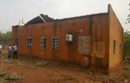 INFRASTRUCTURE : Le bâtiment de la CEBII de Kongoussi décoiffé par un vent violent
