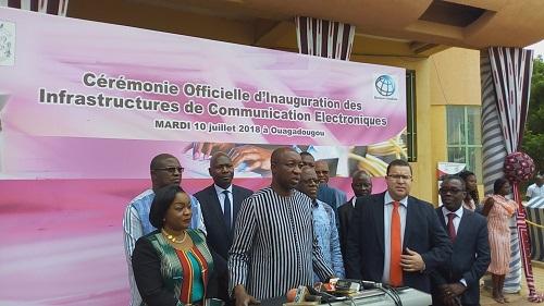Burkina : Plus de onze milliards de FCFA d'infrastructures pour améliorer le débit internet