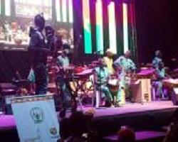 Les Burkina Faso fait sensation à Kigali avec l'ensemble artistique Bolomakoté