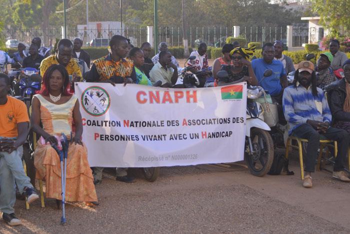 OCTROI DE MICRO-CREDITS AUX PERSONNES HANDICAPEES : la CNAPH en colère contre Marie Laurence Ilboudo