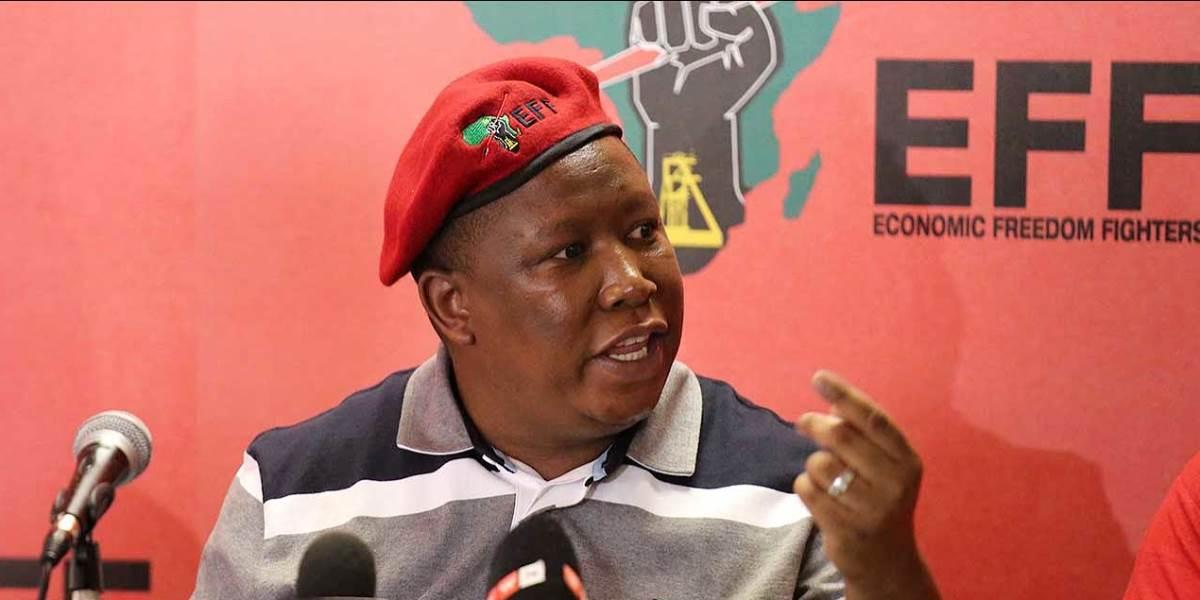 AFRIQUE DU SUD : le parti de Julius Malema englué dans un vaste scandale de corruption