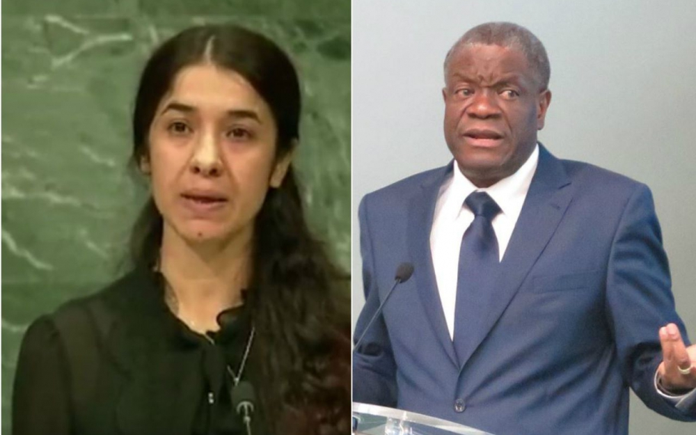 PRIX NOBEL DE LA PAIX 2018 : the winner is... Denis Mukwege