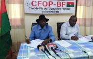 Déplacement massif de populations pour cause d'insécurité au Burkina : le CFOP propose « Boli bana »