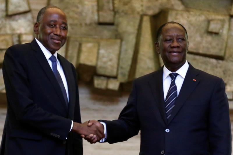 REMANIEMENT MINISTERIEL EN COTE D'IVOIRE: un seul sortant pour une dizaine d'entrées dans le nouveau Gouvernement